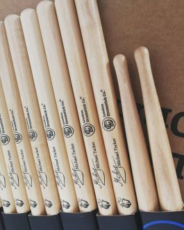 CUSTOM DRUMSTICKS – 12 PAIRS – BASIC OPTIONS