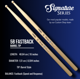 Signature Series – 5B FastBack | Barrel Tip