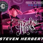 HOWLING TIDES DRUMMER STEVEN HERBERT JOINS LDC ROSTER!