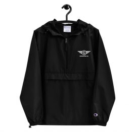 Embroidered LDC WING Logo Packable Jacket