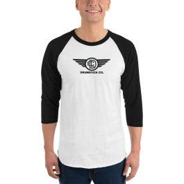 LDC 3/4 sleeve raglan shirt – Wing Logo