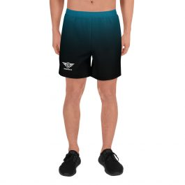 LDC Men's Drumming Long Shorts – Blue/Black Wing Logo