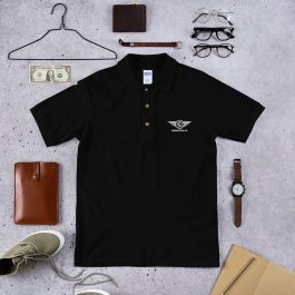 Embroidered LDC  Wings Polo Shirt