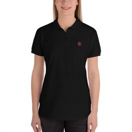 LDC Embroidered Women's Polo Shirt – Pocket Logo