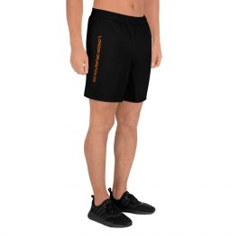 Men's Drumming Long Shorts – Orange Side Logo